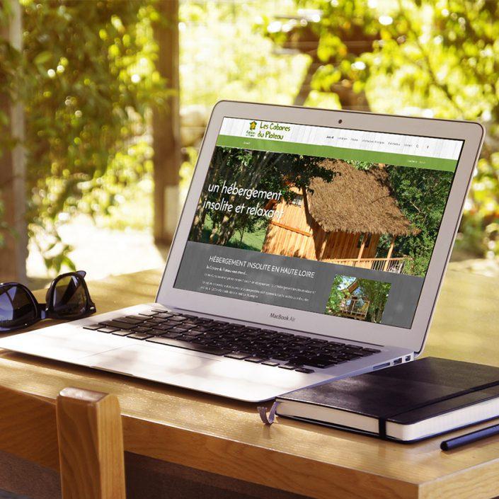 Création site internet Cabane du Plateau