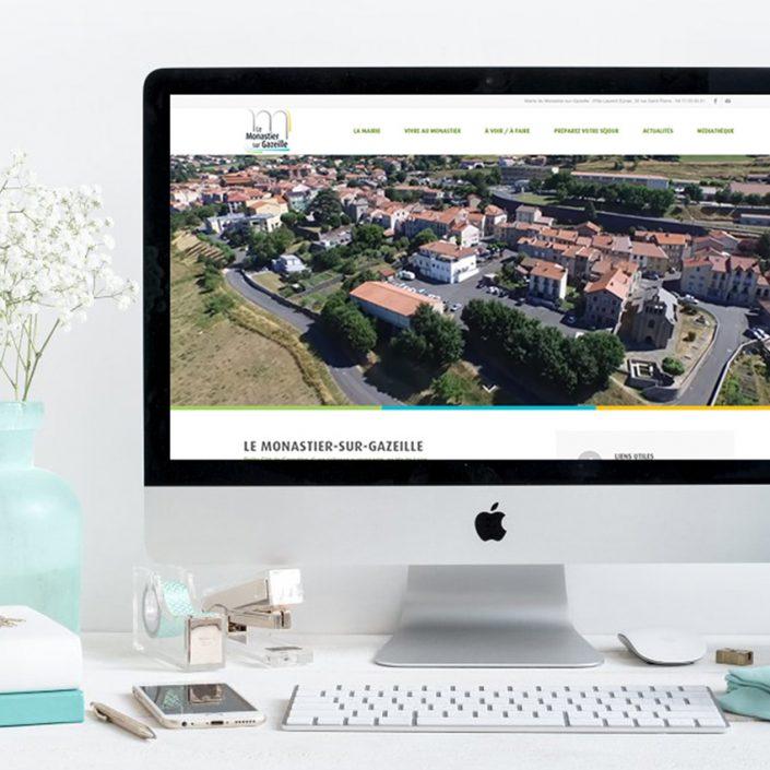 Création de site internet Mairie du Monastier-sur-Gazeille