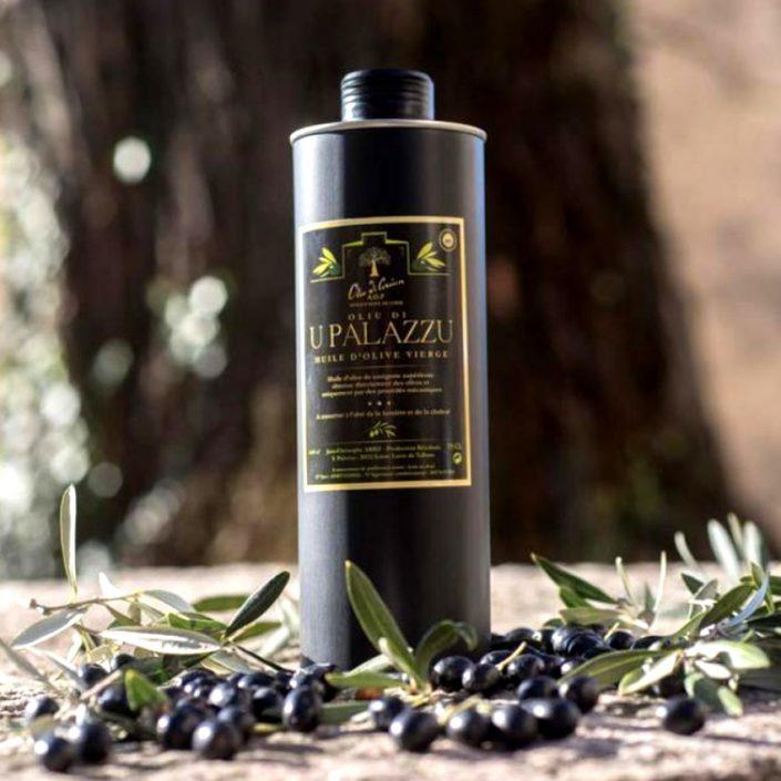 Création d'étiquettes packaging - Huile d'Olive U Palazzu