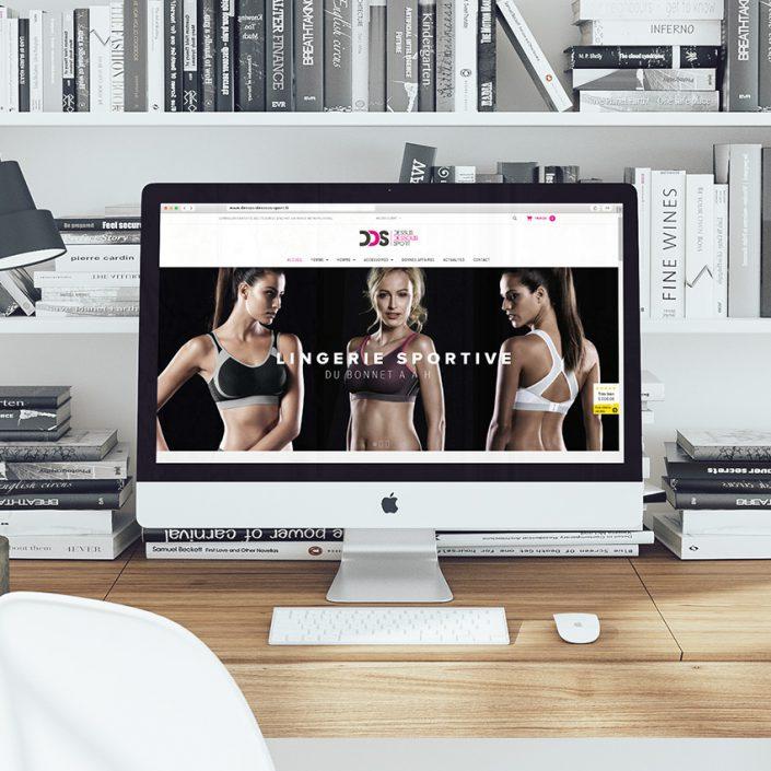 Création de site e-commerce Dessus Dessous Sport