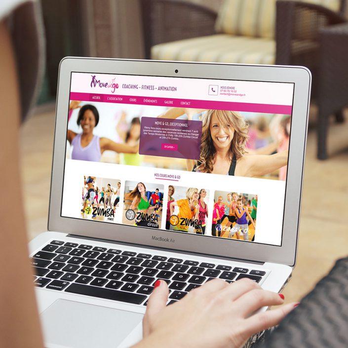 Création de site internet Move & Go