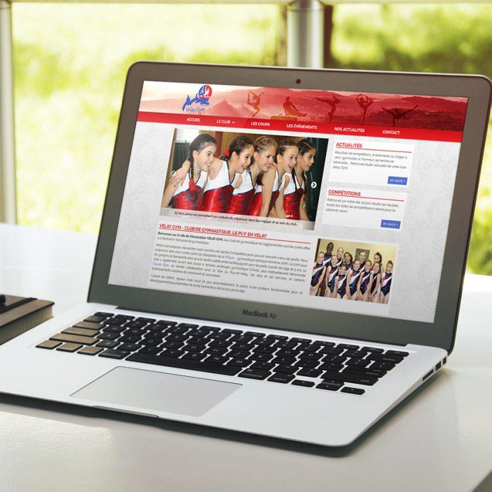 Création de site internet Velay Gym