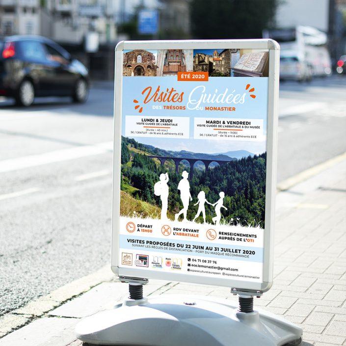 Création Affiche | Visites touristiques