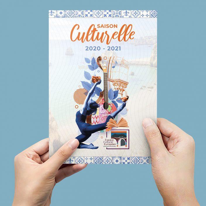 Création Brochure | Saison culturelle pour l'ECE