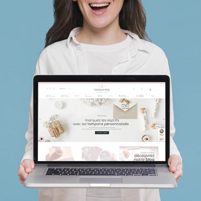 Création de site internet e-boutique | Refonte graphique - Tamporelle.com